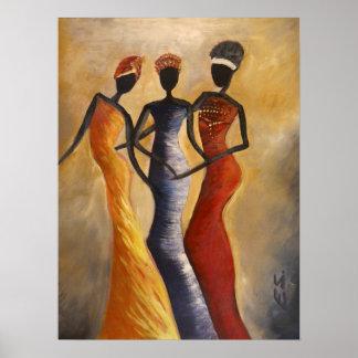 African Queens Poster