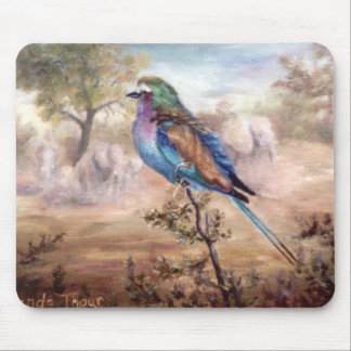 African Roller Mouse Pad