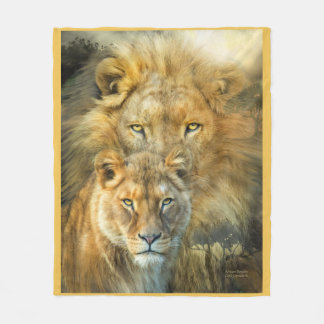 African Royalty Art Fleece Blanket