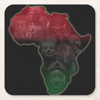 African Royalty Coasters
