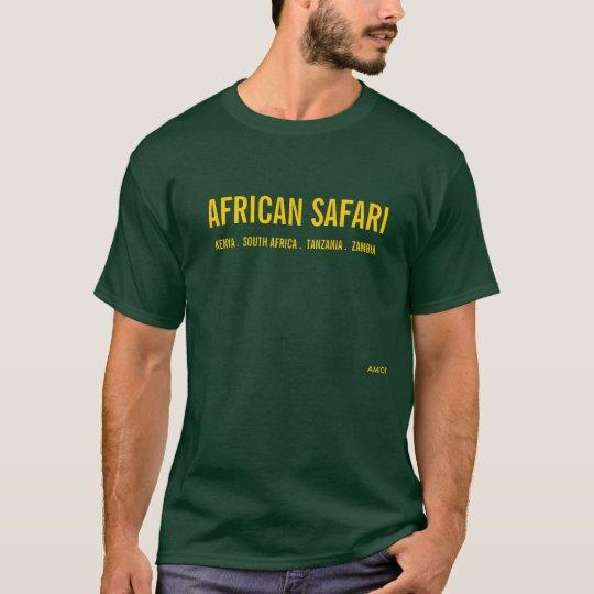 AFRICAN SAFARI - DEEP FOREST T-Shirt