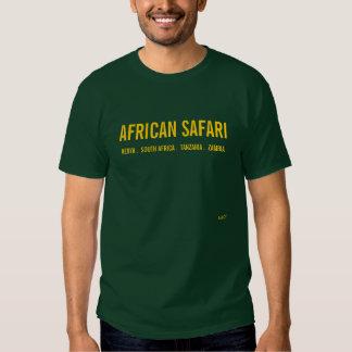 AFRICAN SAFARI - DEEP FOREST TSHIRTS