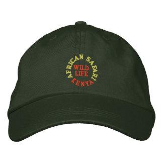 AFRICAN SAFARI, KENYA BASEBALL CAP