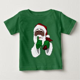 African Santa Shirt Baby Black Santa Shirt