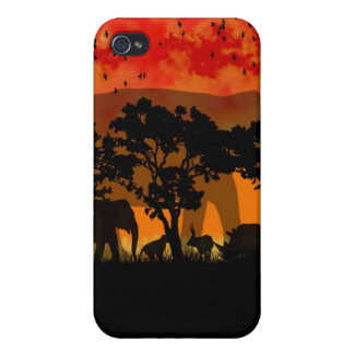 African Scenery i iPhone 4/4S Cases