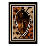African Serenity Mask Posters