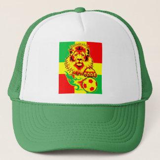 African Soccer Lion Cap
