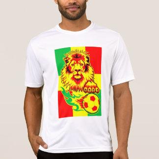 African Soccer Lion T-shirt