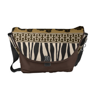 African Style Pattern, Rickshaw Messenger Bag