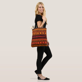 African - Style Pattern Tote Bag