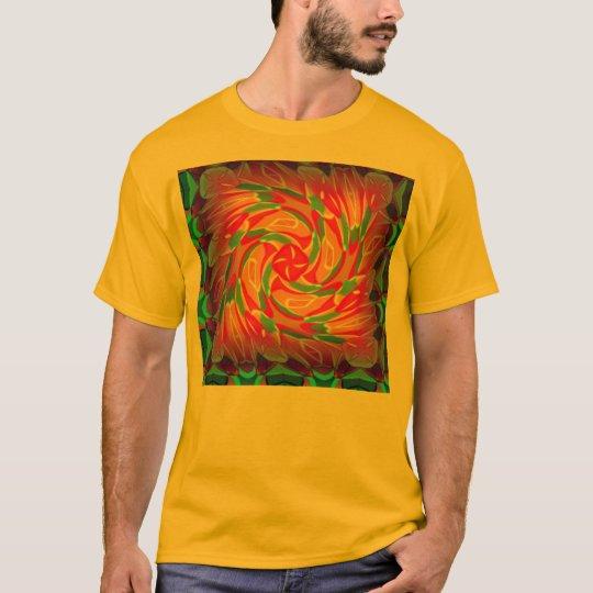 African Sun Mandala 1 T-Shirt