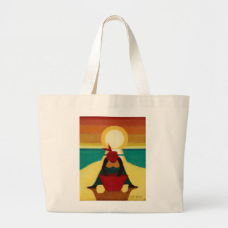 African Sunset 2009 Large Tote Bag