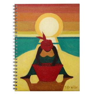 African Sunset 2009 Notebooks