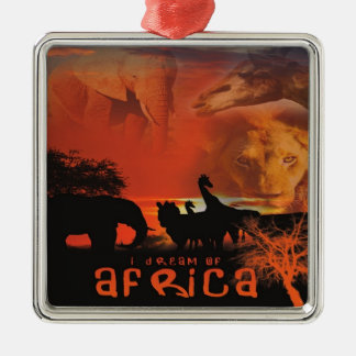 African Sunset Ornament