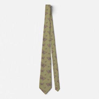 African Swallowtail Men's Neck Tie