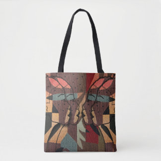 African Tapestry Tote Bag