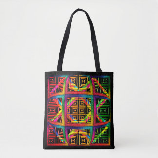 AFRICAN THEME TOTE BAG