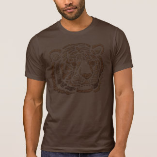 African Tiger Motif APPAREL T-shirts