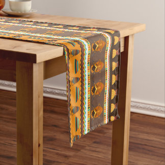 African Tribal animal pattern dining table runner