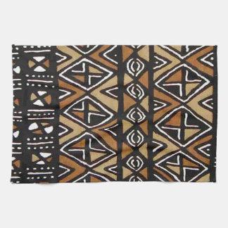 African Tribal Design Tea Towel