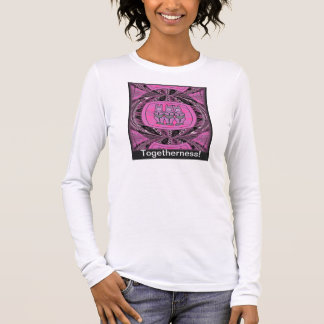 African tribal figurines long sleeve T-Shirt