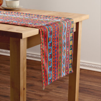 African Tribal pattern dining table runner