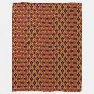 African Tribal Pattern Fleece Blanket
