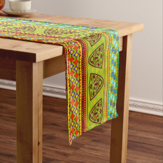African Tribal pattern fun table runner