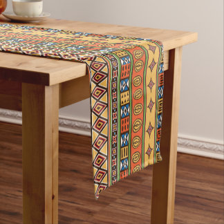 African Tribal pattern home decor table runner