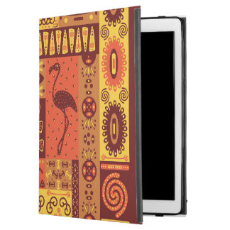 African Tribal pattern iPad Pro case