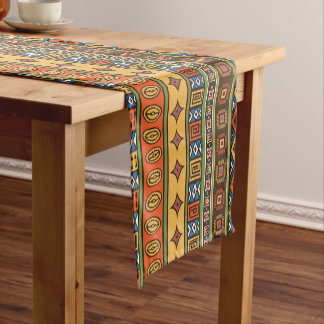African Tribal Pattern table runner