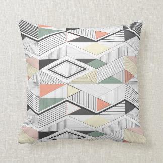 African vector stripe pillow