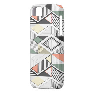 African vector striped Iphone Case