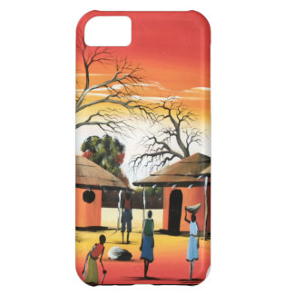 African village centre iPhone 5C case