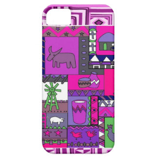 African village life iPhone 5 cover