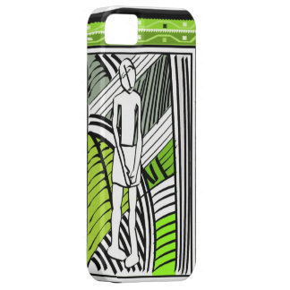 African village life tribal farmer case for the iPhone 5