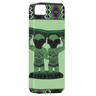 African village life tribal figures apple case for the iPhone 5