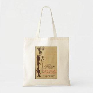 African Vinneyard Federal Theatre Debut Poster Budget Tote Bag