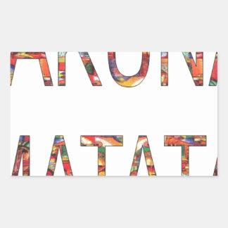 African Vintage Colors Hakuna Matata.jpg Stickers