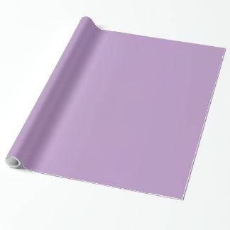 African Violet. Elegant, Chic Fashion Colour Wrapping Paper