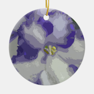 African Violet Flower Ornament