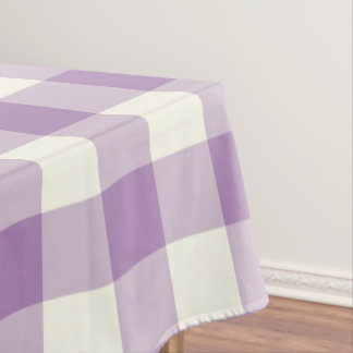 African Violet Gingham / Buffalo Check Tablecloth