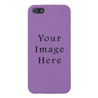 African Violet Purple Color Trend Blank Template Cover For iPhone 5