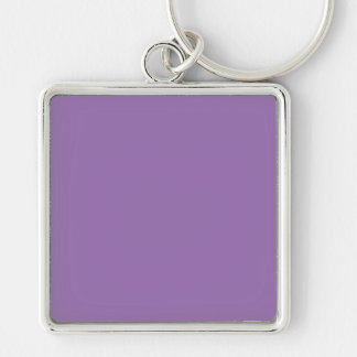 African Violet Purple Color Trend Blank Template Key Chain