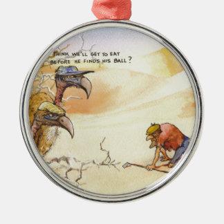 African Vultures Christmas Ornament