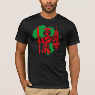 AFRICAN WARRIOR RGB T SHIRT