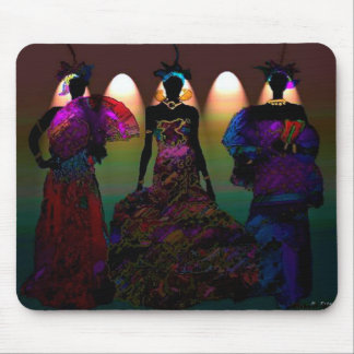 African  Wedding Mouse Pad
