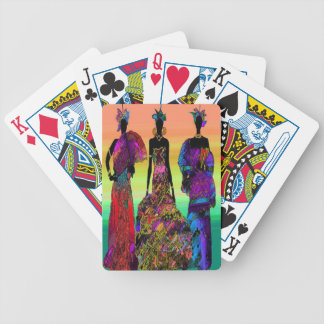 AFRICAN WEDDING PLAYING CARDS