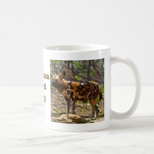 African Wild Dog  1932 Coffee Mug