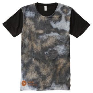 African Wild Dog Awareness All-Over Print T-Shirt